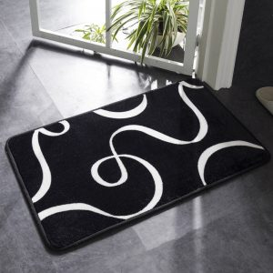 Bath Mat Geometric Pattern Carpet