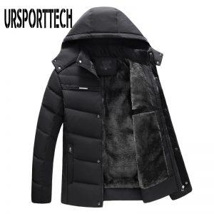 Winter Jacket Men Parka Warm Coat