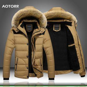 Fur Collar Hooded Winter Jacket