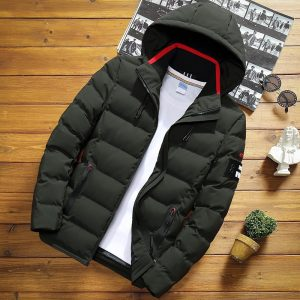 Thick Warm Jacket Hooded Jackets