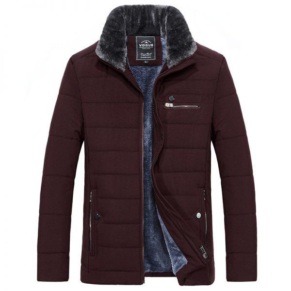 Men Cotton Jacket Business Outerwear