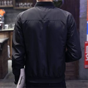 Men Bomber Jacket Baseball Jackets