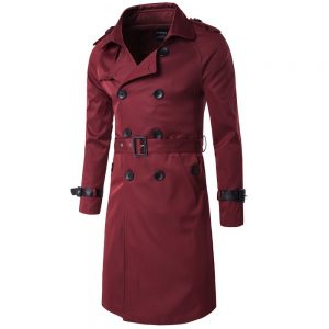 British Classic Trench Coat Jacket