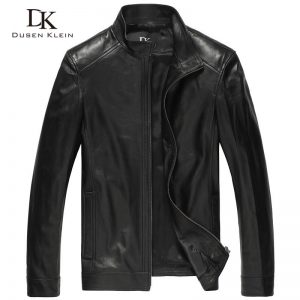 Genuine Sheepskin Leather Jacket