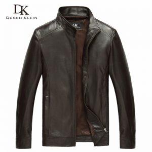 Genuine Sheepskin Leather Jacket