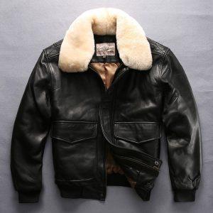 Military Jacket Sheepskin Coat Pilot Jacket