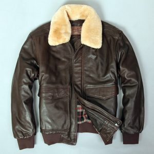 Military Jacket Sheepskin Coat Pilot Jacket