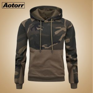 Fashion Sweatshirt Camouflage Hoodies