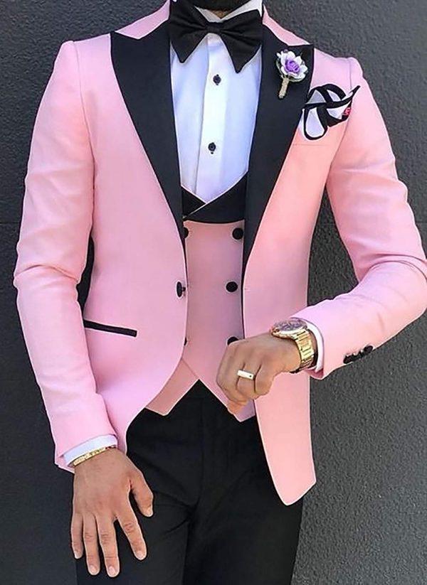 Men Suits Slim Fit Business Suits