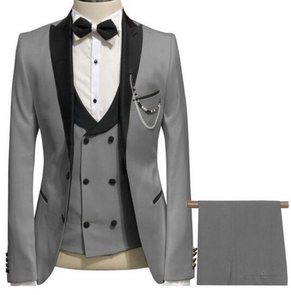 Men Suit Tuxedo Groom Wedding Suits