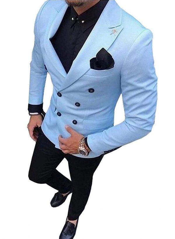Men's Suit Double-Breasted Suit
