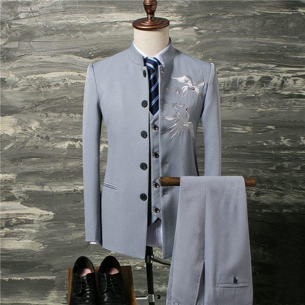Classic Men Suit Wedding Groom Suit