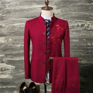 Classic Men Suit Wedding Groom Suit