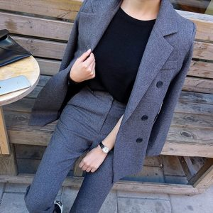 Ladies Fashion Business Pant Suits