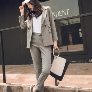 Women Suit Casual Blazer Jacket