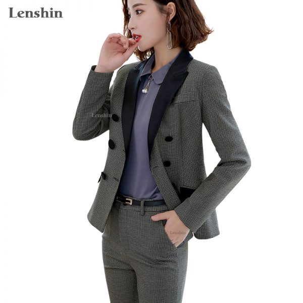 Formal Pant Suit Blazer Jacket