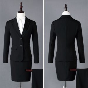 Women Formal Suit Business Blazer