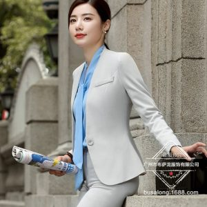 Women Pant Suits Formal Trousers