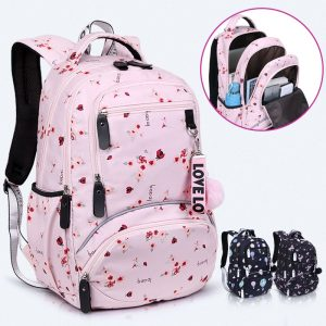 Large Schoolbag Student Backpack