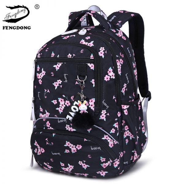 Large Schoolbag Student Backpack