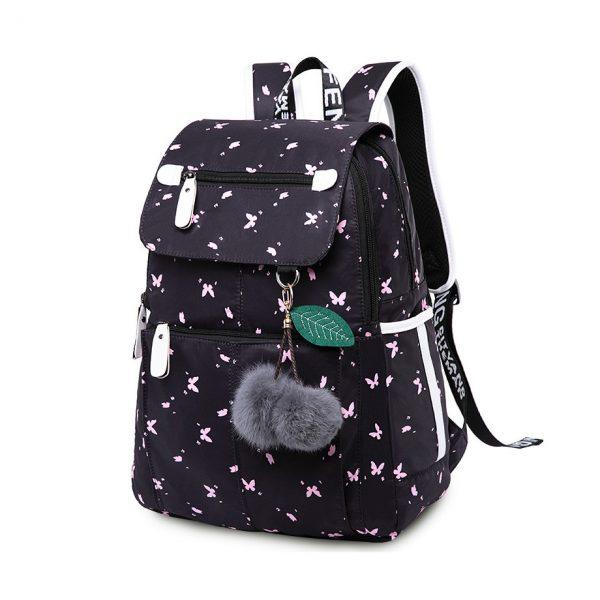 School Bags Girls Laptop Backpack