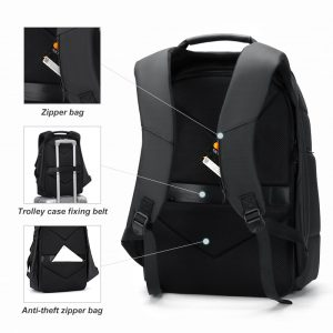 Multifunction Men Backpack USB Charging