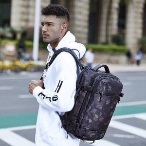 Men Backpack USB Charging Travel Bag