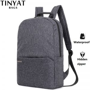 Men Laptop Backpack School Bag