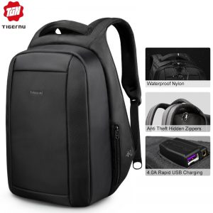 Men School Bags Laptop Backpacks