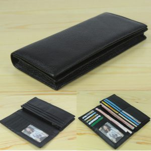 Leather Men's Wallet Long Clutch