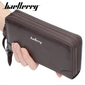 Men Wallets Long Clutch Purse