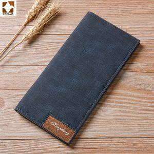 Vintage Leather Wallets Male Porte
