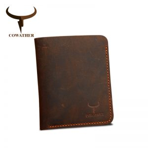 Crazy Horse Leather Men Wallets
