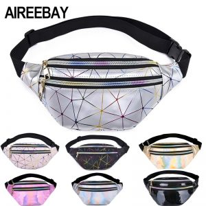 Holographic Waist Bags Phone Pouch