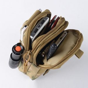 Military Molle Pouch Waist Bag