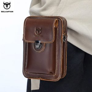 100% Crazy Horse Leather Waist Packs