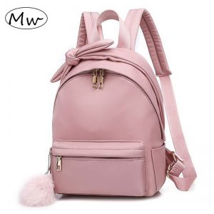 School Backpack Hairball Shoulder Bag