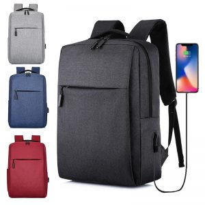 Laptop USB Backpack School Bag