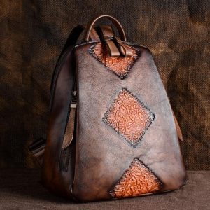 Skin Travel Bag Leather Backpack