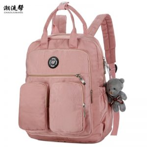 Woman Backpack Dos School Bags