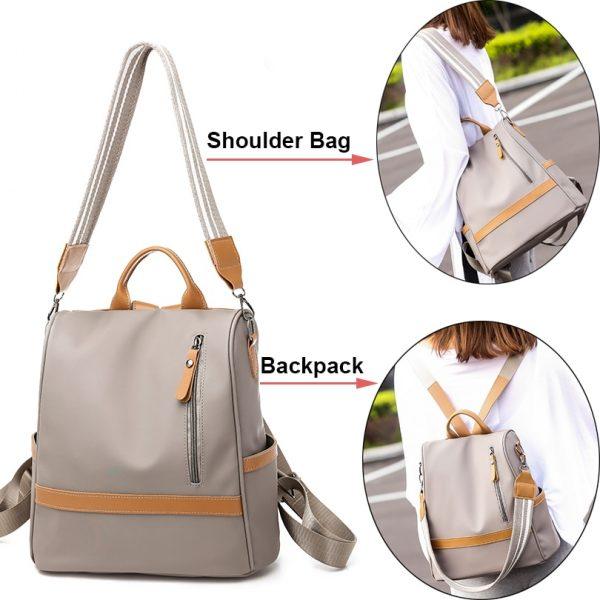 Ladies Large Capacity Backpack