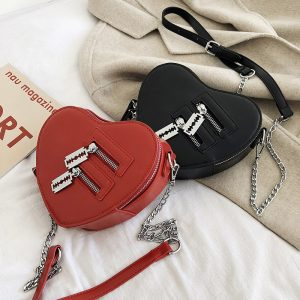 Love Heart Shape Shoulder Bag