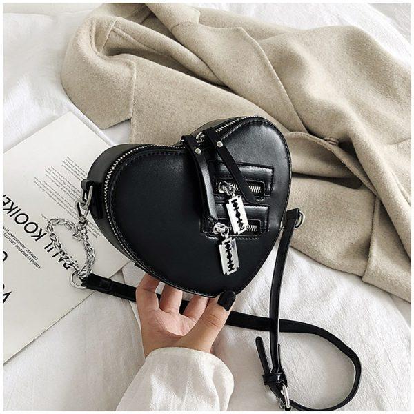 Love Heart Shape Shoulder Bag