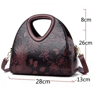 Leather Luxury Handbags Women Bags
