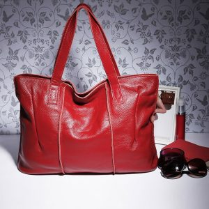 100% Leather Bag Women Handbags