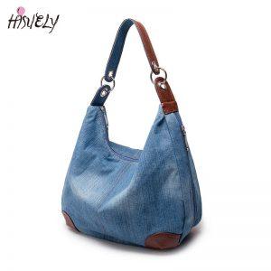 Causal Bags Ladies Denim Handbag