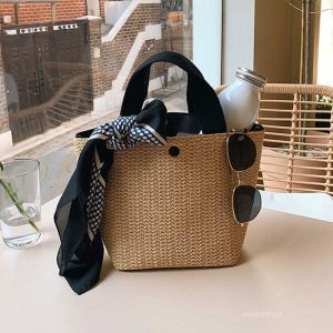 Women Handbags Beach Straw Bags