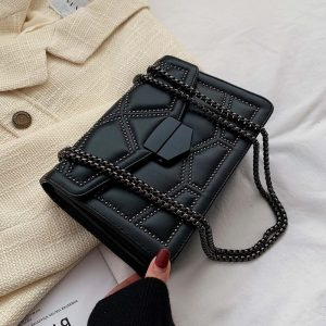 Rivet Chain Small Crossbody Bags