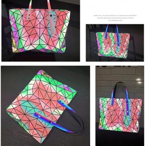 Holographic Laser Handbag Shoulder Bag