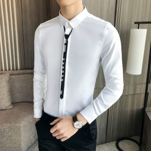 Business Banquet Men Dress Shirt